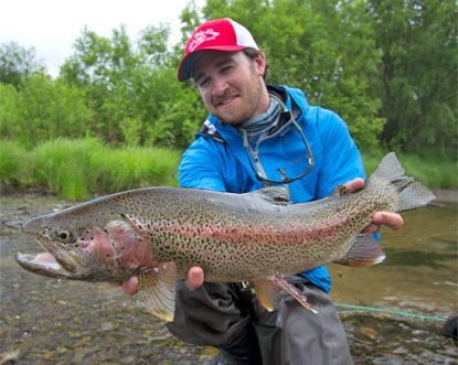 Christiaan Pretorius - Kamchatka Rainbow Trout