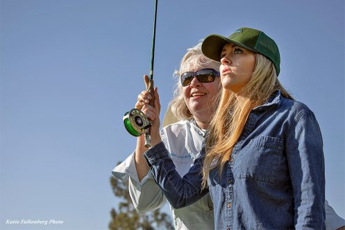 The Women's Angle - Mary Ann Dozer Casting Class - Katie Falkenberg